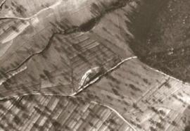 Lehmgrube am Großen Wald, historische Luftansicht